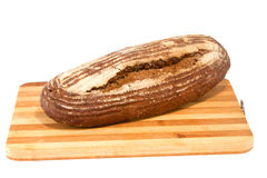Preview bread loaf on white background Royalty Free Stock Photo