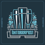 Preview on Oktoberfest Royalty Free Stock Image