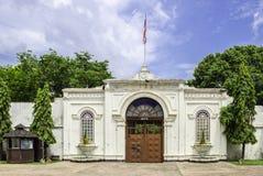 Previous prison gate in Bangkok Royalty Free Stock Photos