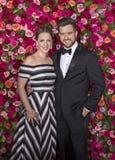 Jessie Mueller and Andrew Truschinski at 2018 Tony Awards Stock Photo