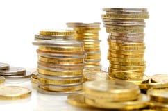 Previsões financeiras Fotografia de Stock Royalty Free