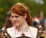 Previsione dai capelli rossi della regina SaveDownload  Regina dai capelli rossi Fotografia Stock