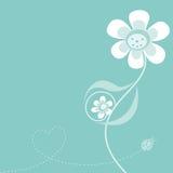 Previsione del fiore della madre illustrazione di stock