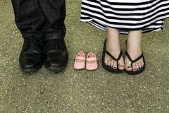 Previsione della neonata Fotografia Stock