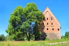 Preysish-Eylau骑士的城堡  免版税库存图片