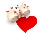 prezentów karciani valentines ilustracja wektor