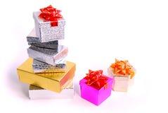 Prezentów pudełka Obraz Stock