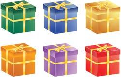 Prezentów pudełka Zdjęcie Stock
