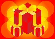 Prezentów pudełka Zdjęcie Royalty Free