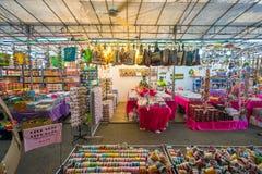 Prezentów sklepy przy Małym India, Singapur Zdjęcie Royalty Free
