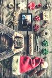 Prezent, boże narodzenia, wakacje, świętowanie, rok, teraźniejszość, nowa, pudełko, Zdjęcie Stock