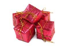 prezent czerwień Zdjęcie Royalty Free