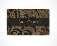 Prezent karta, karta, wizytówka/rabata/. Ślimacznica ilustracja wektor