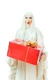 prezent kobieta zdjęcie stock