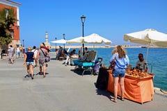 Prezent opóźnia w Chania schronieniu, Crete Fotografia Stock