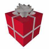 prezent pudełkowata czerwone. Obrazy Stock