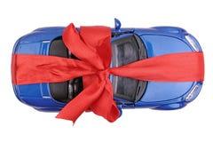 prezent samochodowa zabawka Obrazy Royalty Free
