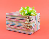 prezent weihnachtspakete świąteczne zdjęcie stock