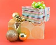 prezent weihnachtspakete świąteczne zdjęcie royalty free
