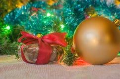 prezent weihnachtspakete świąteczne Fotografia Royalty Free