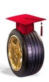 (1) prezenta absolwenta skalowanie ja liczba Fotografia Royalty Free