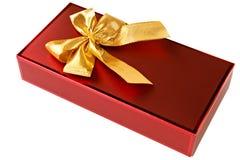 Prezenta bożenarodzeniowy pudełko obrazy royalty free