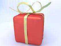 Prezenta bożenarodzeniowy pudełko Zdjęcie Royalty Free