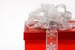 Prezenta bożenarodzeniowy pudełko zdjęcia royalty free