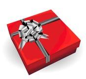 Prezenta czerwony pudełko Zdjęcia Stock