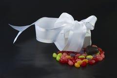 prezenta miłości cukierki Obraz Royalty Free