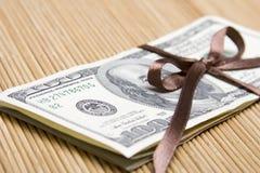 prezenta pieniądze zdjęcie royalty free