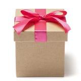 Prezenta pudełko - Akcyjna fotografia Zdjęcia Royalty Free