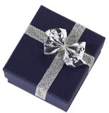 Prezenta pudełko - zamknięty obraz royalty free