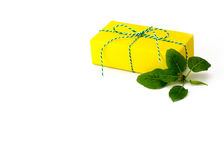 Prezenta pudełka jaskrawy kolor Obrazy Royalty Free
