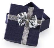 Prezenta pudełko - otwiera zdjęcia stock