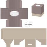 prezenta pudełkowaty szablon Obraz Stock