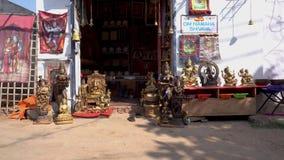 Prezenta sklep w India bez ludzi zbiory wideo