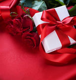 prezenta valentine fotografia royalty free