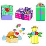 prezenta valentine ilustracji