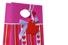 prezenta valentine s Obrazy Royalty Free