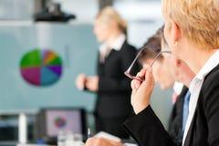 prezentaci biznesowa drużyna Obrazy Stock