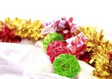 Prezentacja dla bożych narodzeń & nowego roku zdjęcia stock