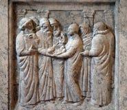 Prezentacja Jezus w świątyni Zdjęcie Stock