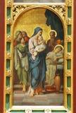 Prezentacja Jezus w świątyni obrazy stock