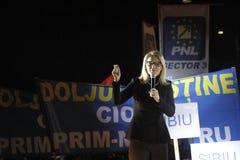 Prezentacja kandydaci Krajowa partia liberalna Zdjęcie Stock