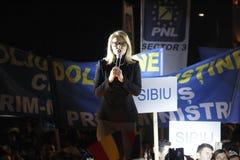 Prezentacja kandydaci Krajowa partia liberalna Zdjęcia Royalty Free