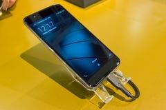 Prezentacja nowy telefon komórkowy Gigaset Ja Obraz Stock