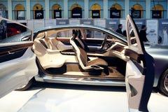 Prezentacja S60 projekt przy Volvo mody tygodniem Obrazy Royalty Free