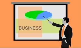prezentacja wymiarowej 3 d gospodarczej sprawia, że kształt 3 Zdjęcia Royalty Free