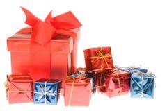 prezenty świąteczne Fotografia Royalty Free